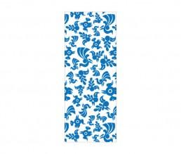 てぬぐい 青い鳥(白×青)